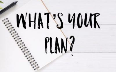 Make it a PLAN not a RESOLUTION for 2020