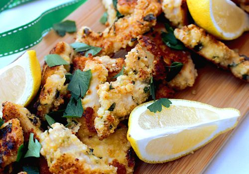 Herbed Crumbed Chicken