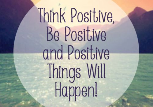 Get Motivated to Lose Weight: Step 9: Think and Talk Positively